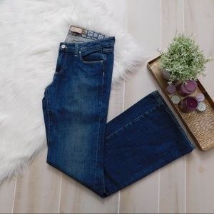 Paige Mid Rise Relaxed Wide Leg Robertson Jeans